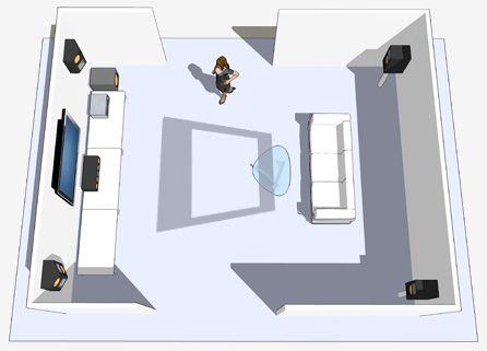 Home cin ma adaptique - Installation home cinema salon ...